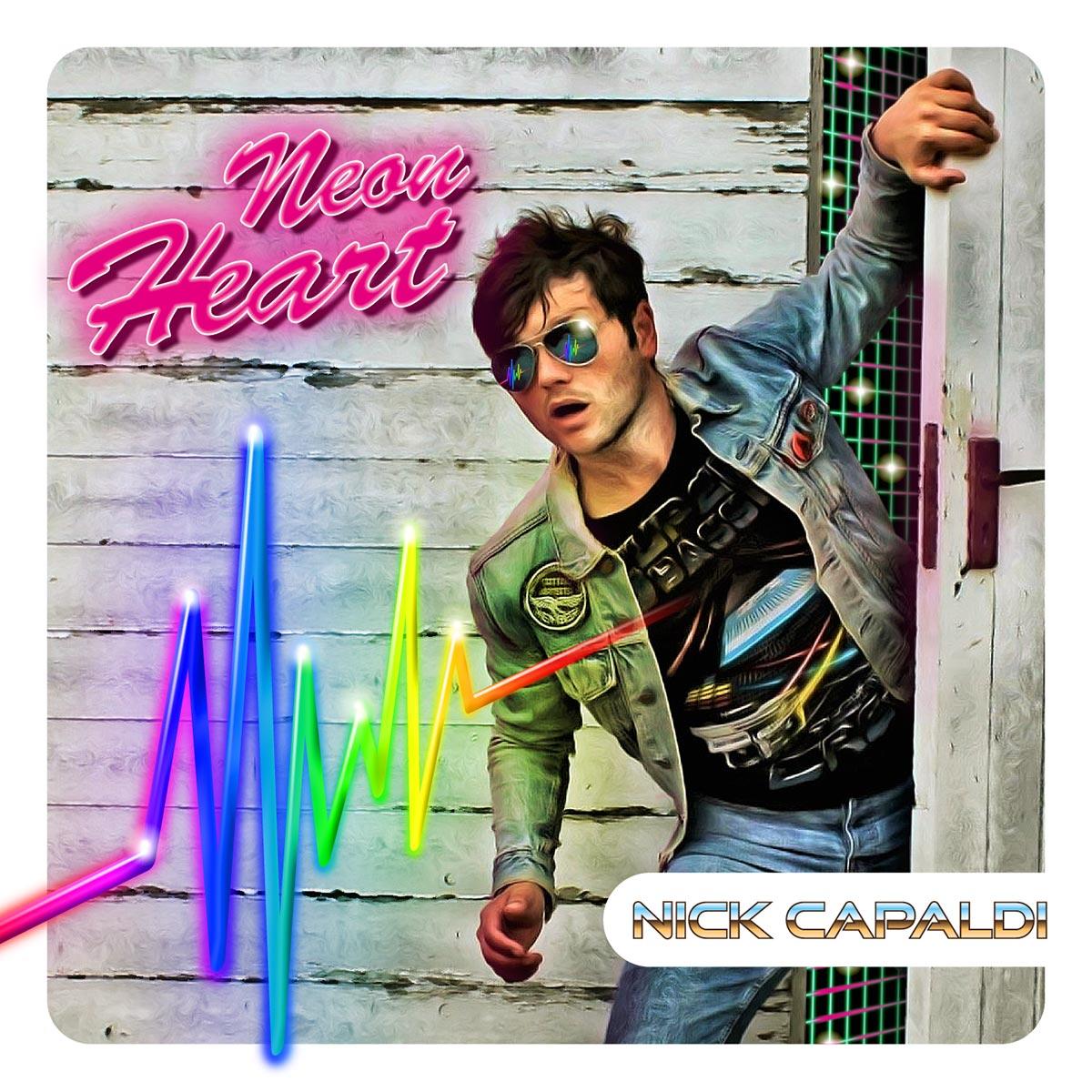Nick Capaldi Musician - Neon Heart CD cover
