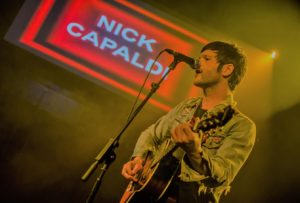 Nick Capaldi in concert – The Junction Cambridge - Photo by Gareth Nunns