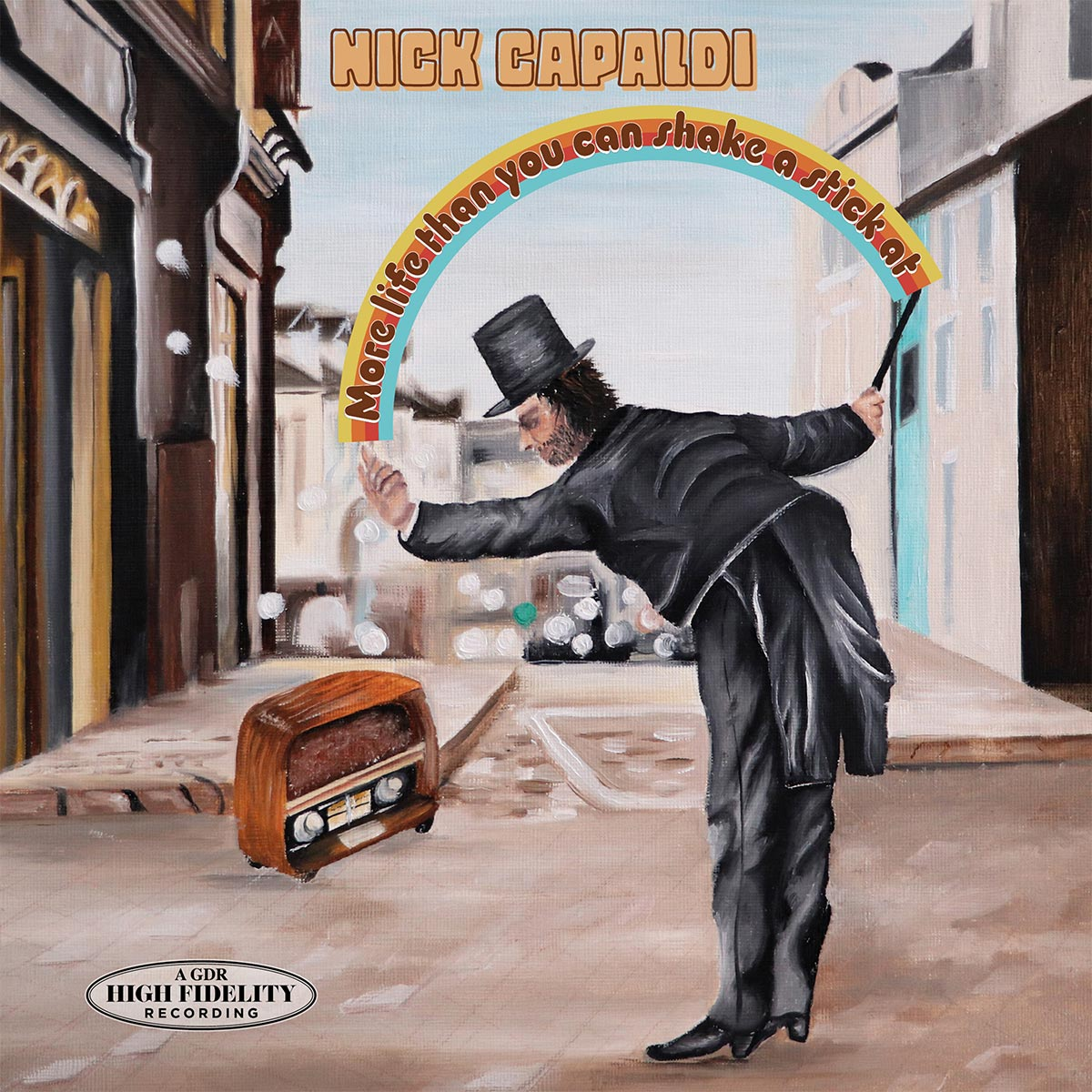 Nick Capaldi Musician - More life than you can shake a stick at – EP